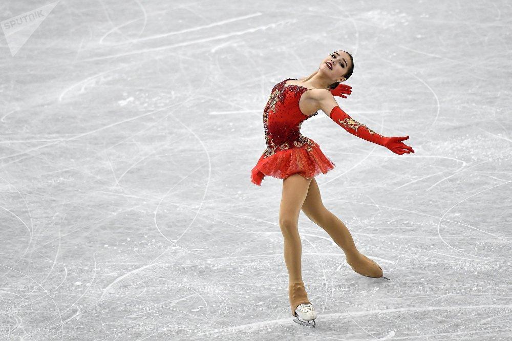 Alina Zagitova lors du programme libre
