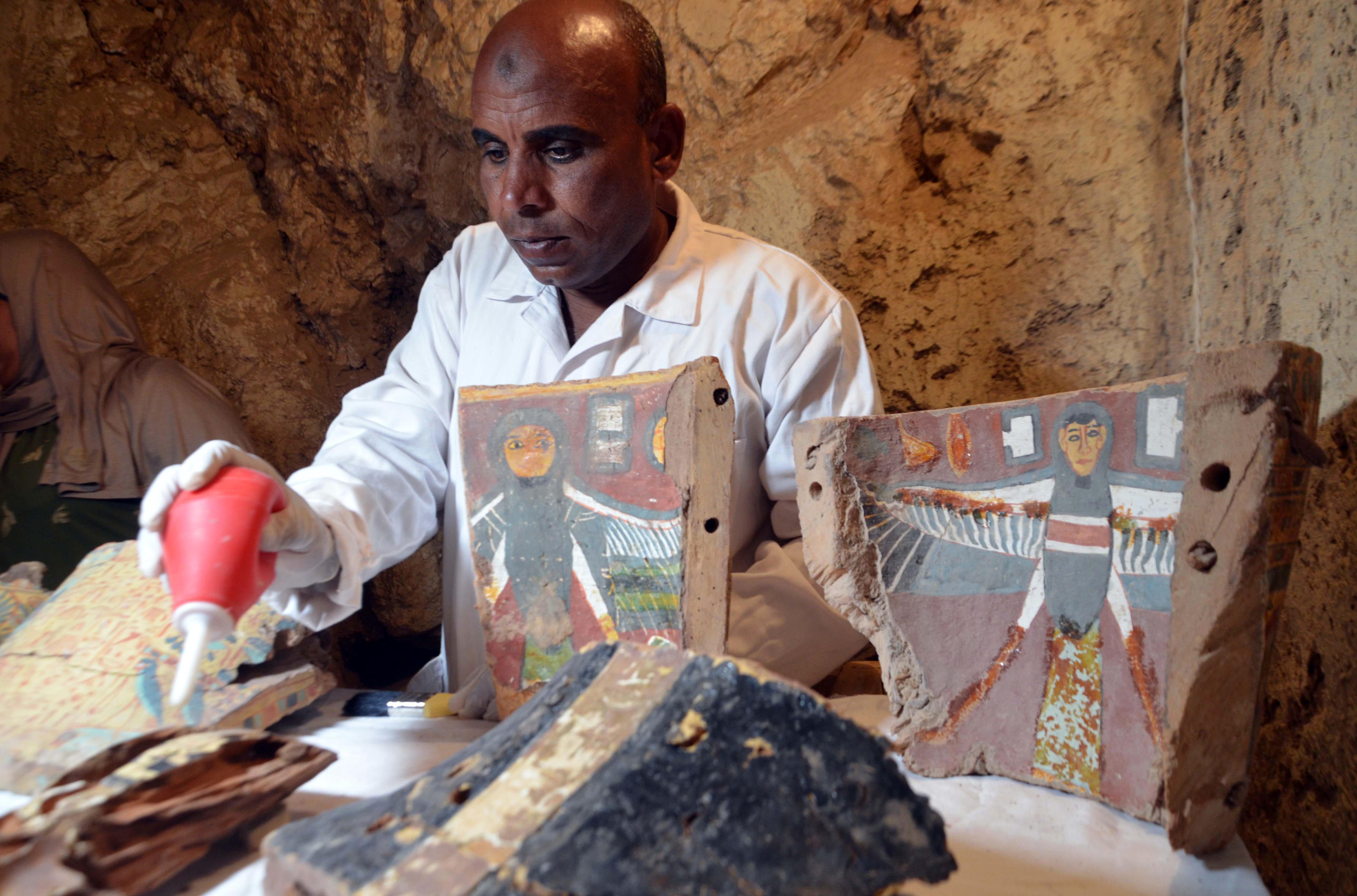 Des archéologues égyptiens ont découvert une momie
