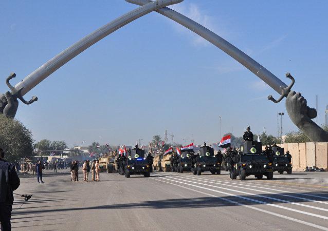 Défilé militaire à Bagdad