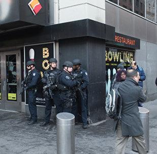 Situation à New York après l'explosion