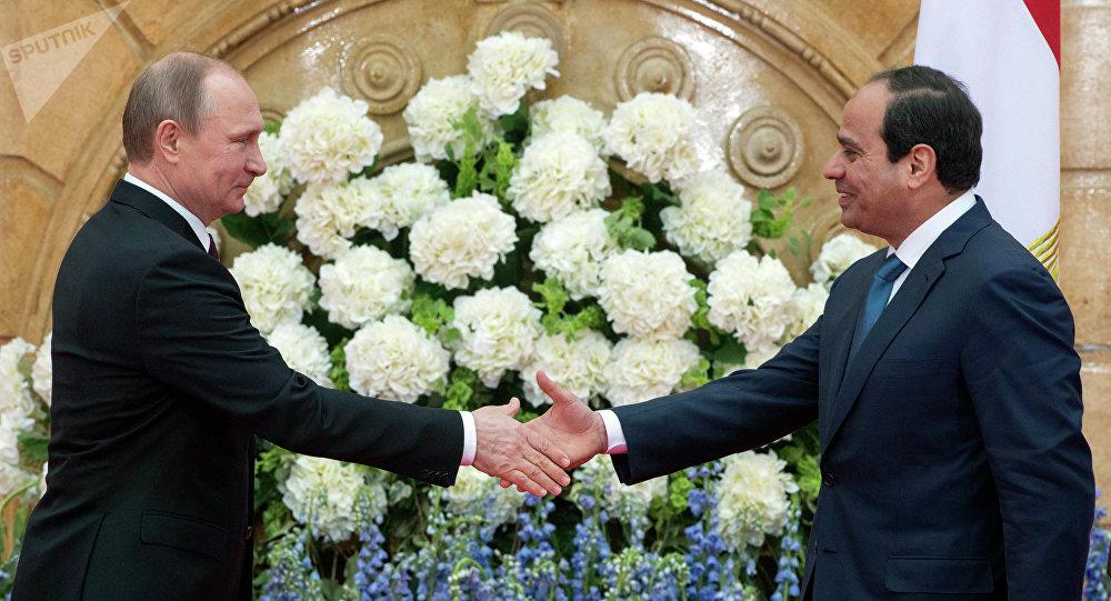Visite de Vladimir Poutine en Égypte (février 2015)