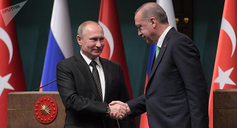 Visite de travail de Vladimir Poutine en Turquie