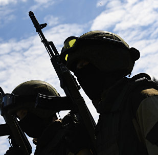 Militaires de la Garde nationale russe