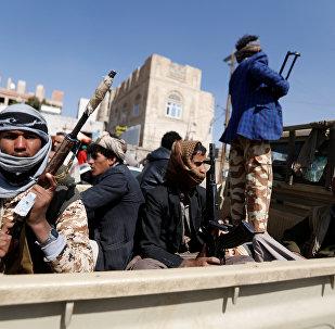 Des rebelles Houtnis à Sanaa