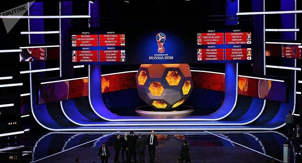 Le tirage au sort des phases finales de la Coupe du monde 2018