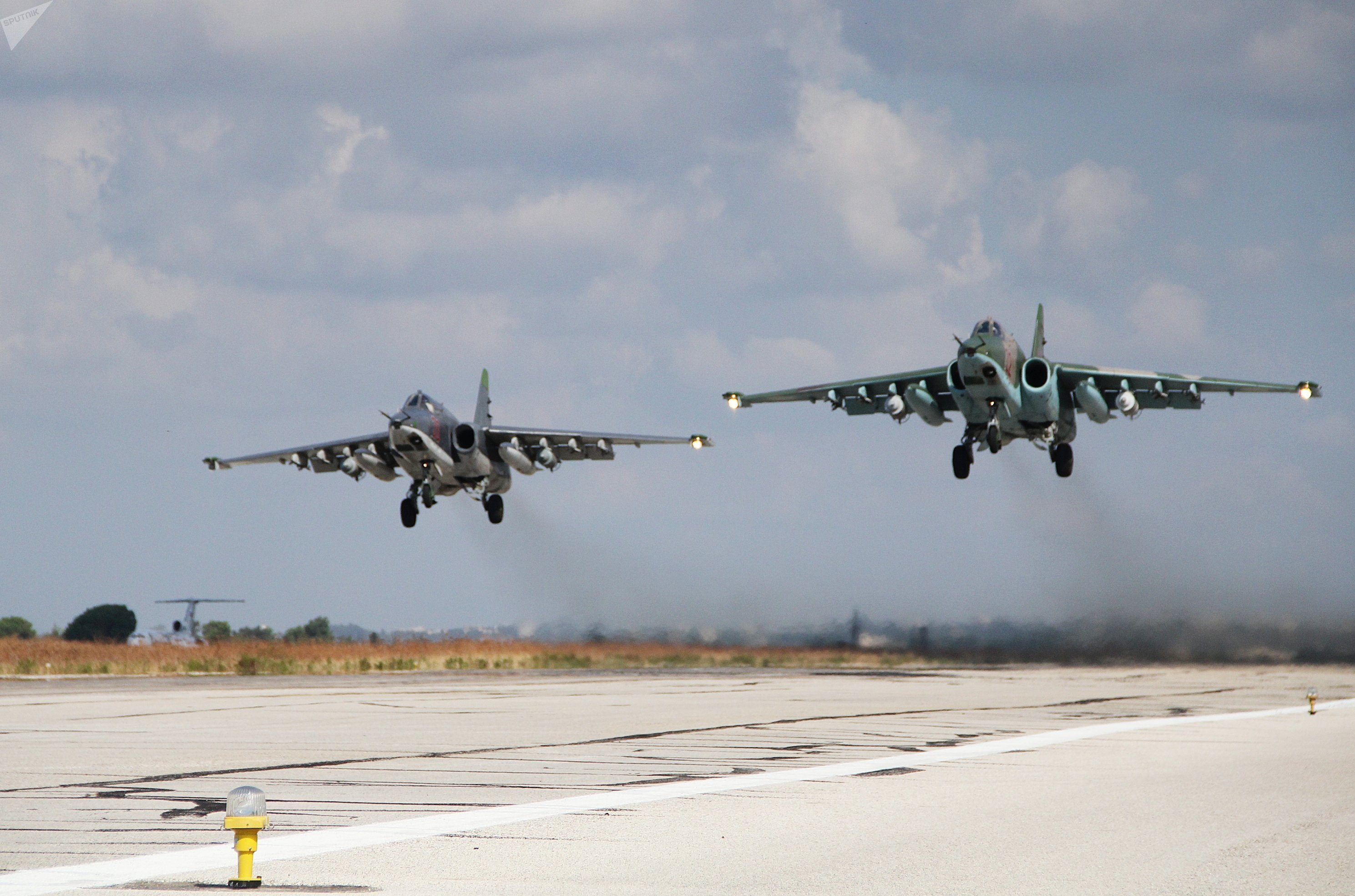 Dès le premier jour de leur présence en Syrie, les avions russes ont effectué des frappes contre Daech