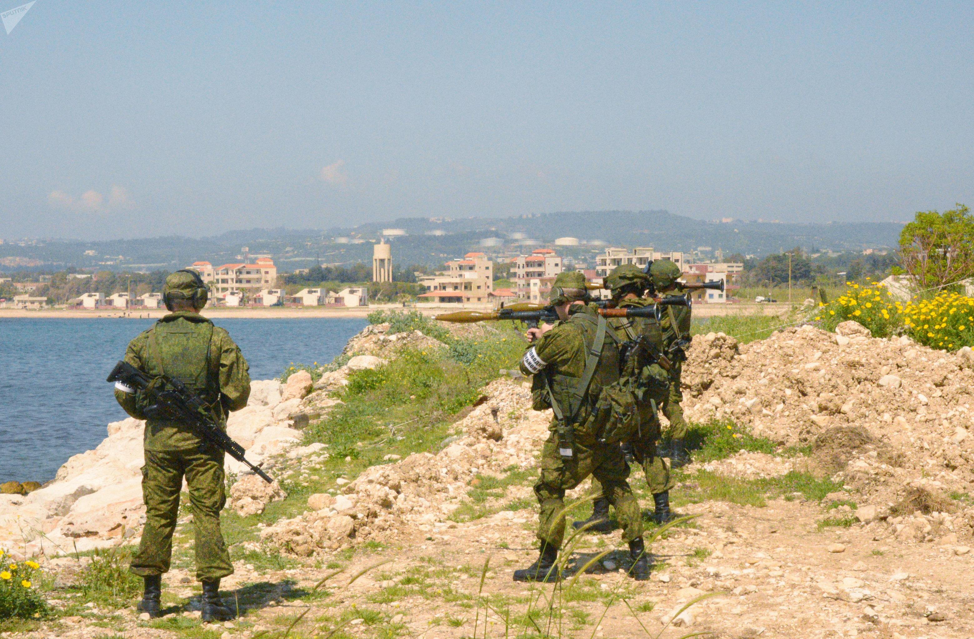 Des militaires russes à Tartous