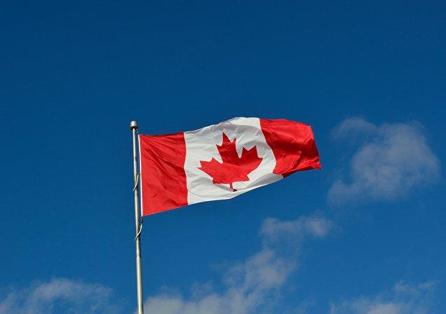 Le drapeau du Canada