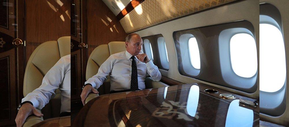 Poutine raconte comment les chasseurs russes ont assuré la sécurité de son vol en Syrie