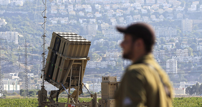 le système israélien «Dôme de fer» de défense antimissile