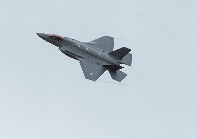Un chasseur américain F-35