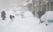 De la neige (une image d'illustration)
