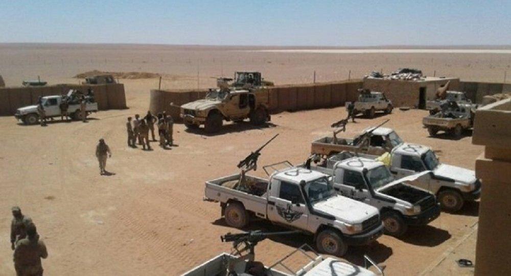 Base américaine d'al-Tanf en Syrie
