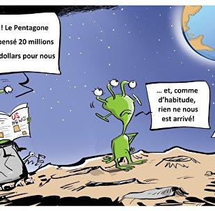 Le programme secret du Pentagone, vise-t-il des extraterrestres ou les Russes?
