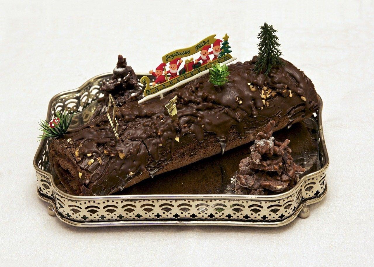 Une bûche de Noël