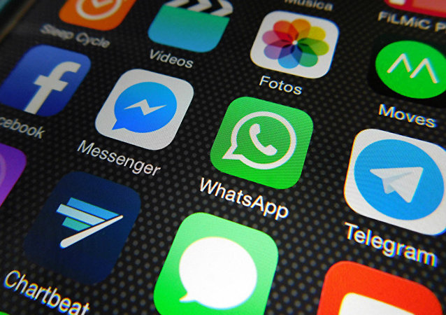 Applications de Whatsapp, Facebook Messenger, Telegram