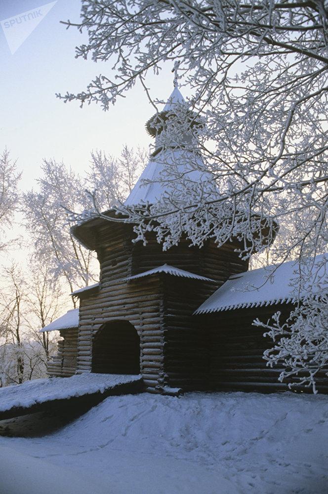 Le Musée-réserve d'histoire et d'architecture Kolomenskoïe, ancienne résidence d'été fréquentée par les tsars russes