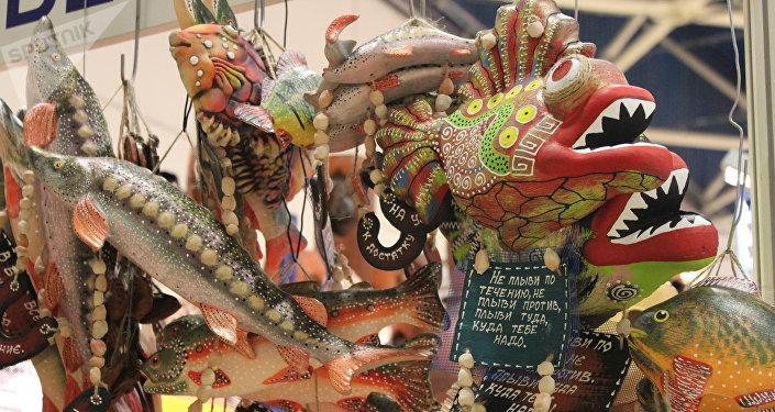 Exposition «Journées de l'Extrême-Orient» à Moscou: jouets de l'artisanat local