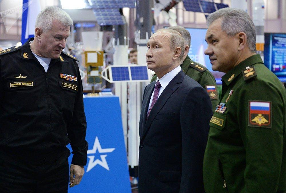 Le Président russe Vladimir Poutine a visité l'Académie militaire des Forces de missiles stratégiques Pierre le Grand