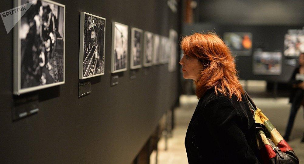 Exposition des clichés des photographes participant au concours international de photographie Andreï Sténine. Archive photo