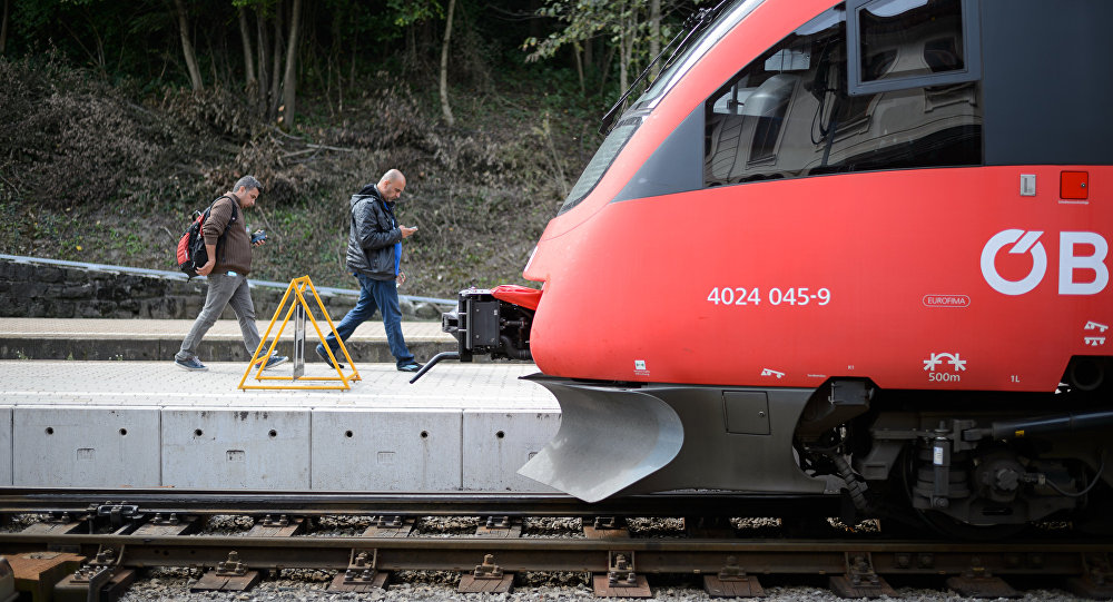 Un train autrichien