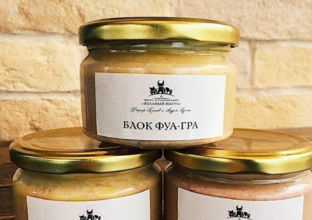 Le foie gras russe