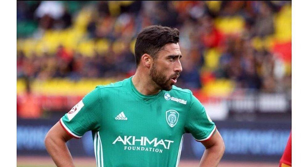 Le footballeur uruguayen Facundo PirizFacundo Piriz