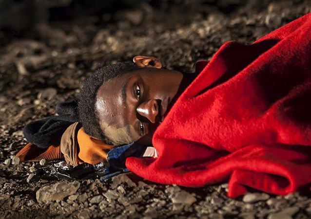 Un réfugié africain