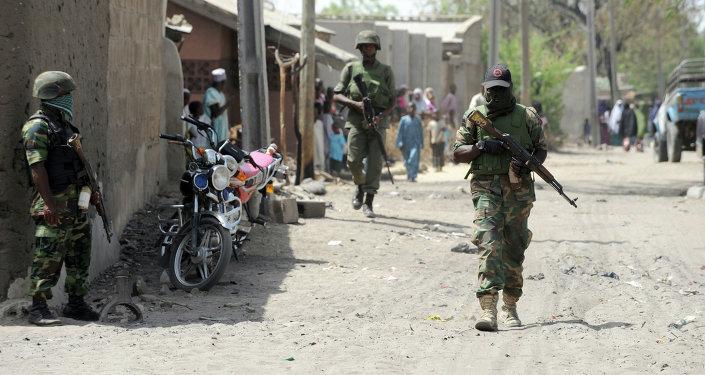 Une ville de l'Etat de Borno, au Nigéria