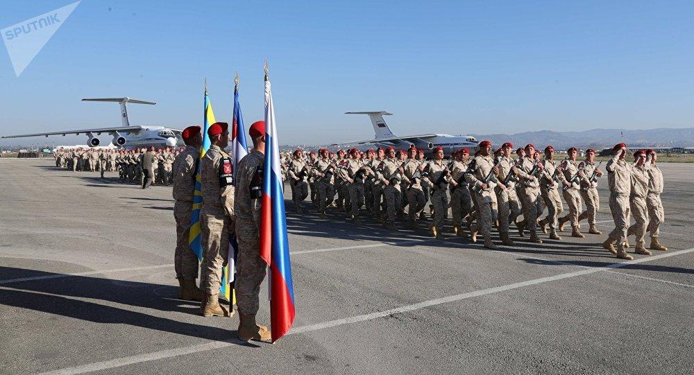 La base russe en Syrie, Hmeimim