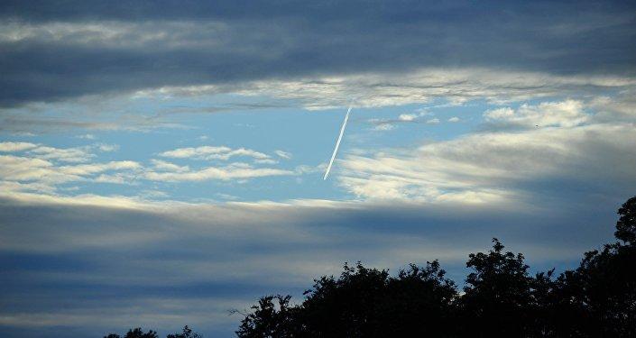 Traces dans le ciel