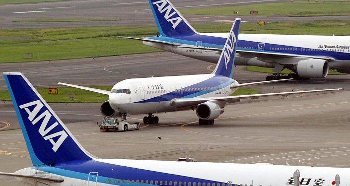 Des avions de la compagnie ANA