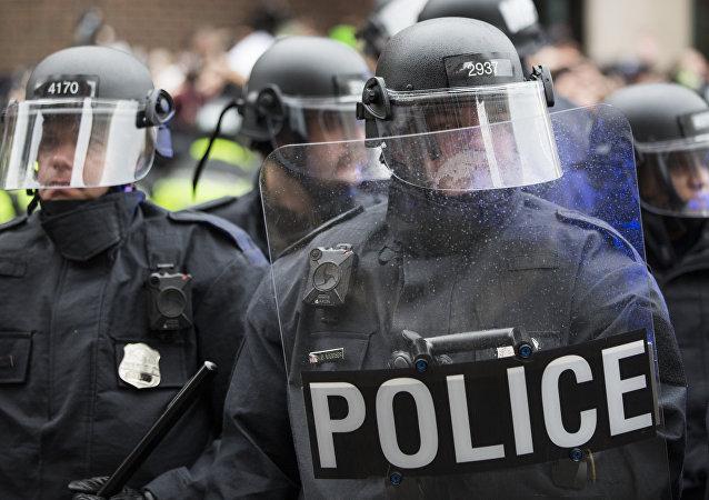 Police à Washington D.C.