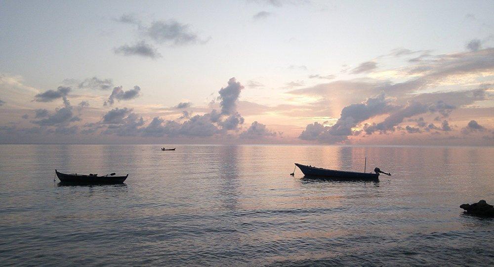 La vue sur l'océan, Maldives