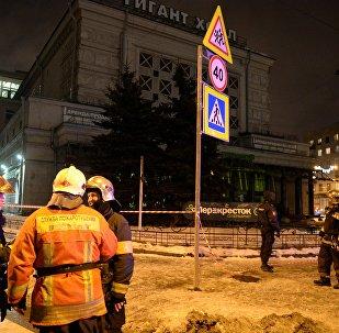 Explosion à St-Pétersbourg