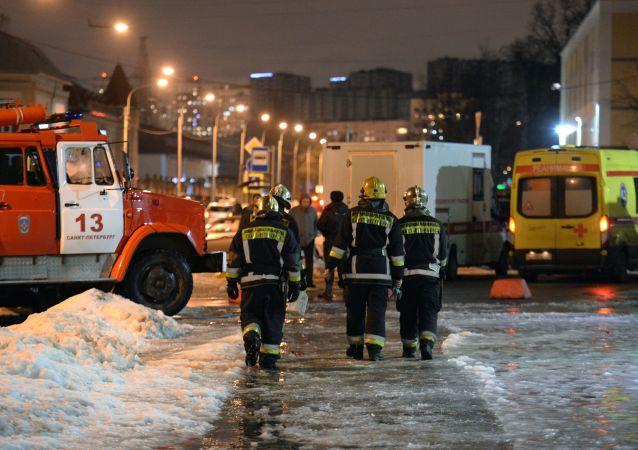 L'attentat de Saint-Pétersbourg