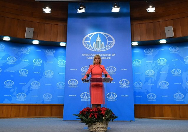 la porte-parole du ministère russe des Affaires étrangères, Maria Zakharova.