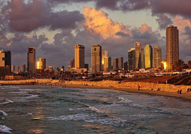 La vue de Tel-Aviv