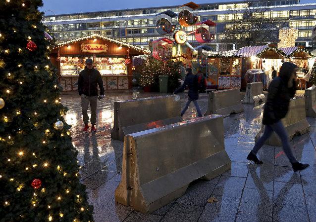 Des mesures de sécurité  à Berlin