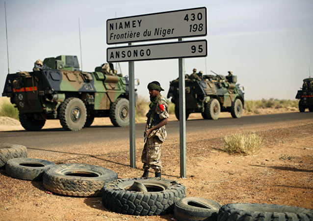 à la frontière du Niger
