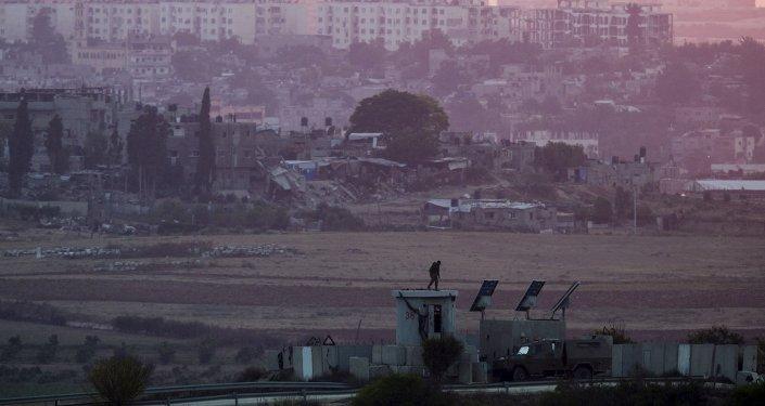 Frontièreentre Israël et la bande de Gaza