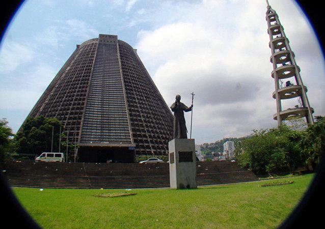 Catedral Metropolitana à Rio