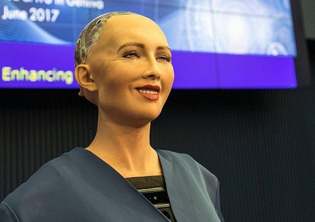 Le robot Sophia