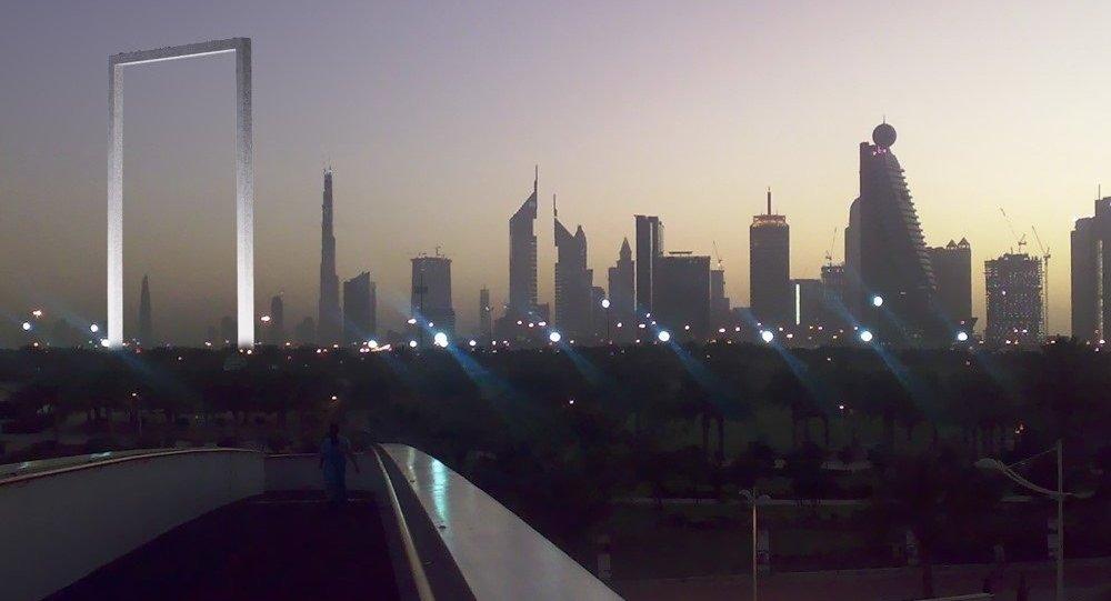 Architecture hors du commun: Dubaï se dote d'un immense cadre photo