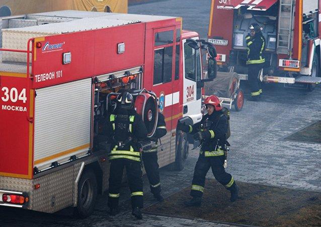 Le département de lutte contre les incendies du ministère russe des Situations d'urgence