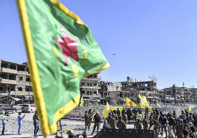 Les forces kurdes du YPG. Photo d'archive