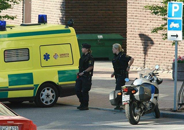 Stockholm, police
