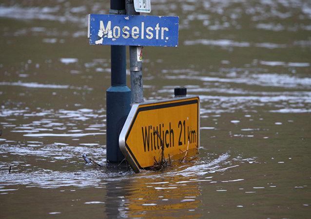 Inondation en Allemagne