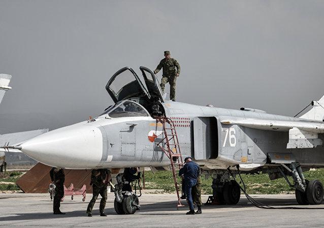 Gouvernement syrien: près de la base russe nos avions seront mieux protégés