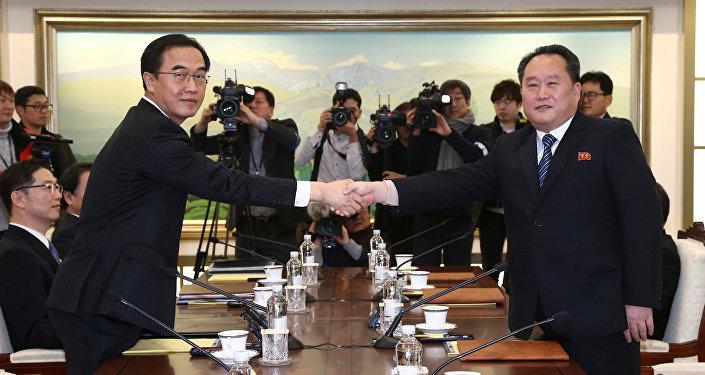 pourparlers entre les deux Corées